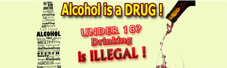 NCDA's Under 18 Drinking Campaign