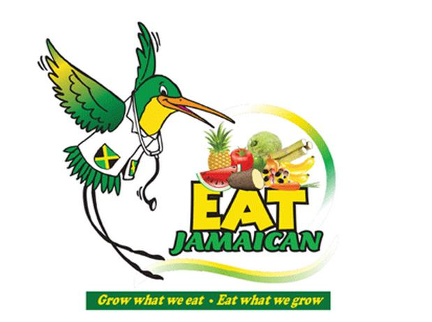 Logo: Grow what we eat; eat what we grow. Courtesy: moa.gov.jm/EatWhatWeGrow/