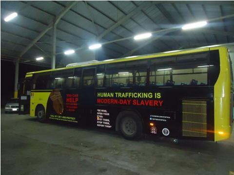 Jamaica's human trafficking awareness campaign